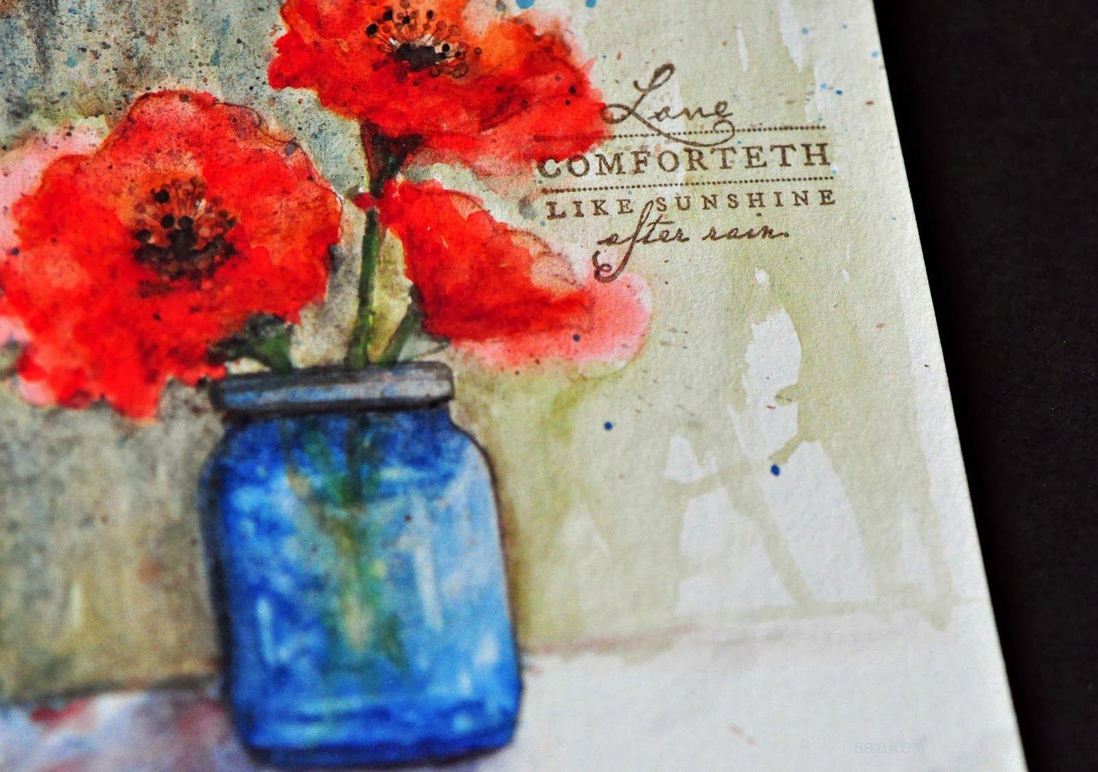 Blooms in a Jar