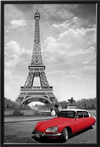 This is definitely going on my living room wall~ Paris-Kiss Posters at AllPosters.com
