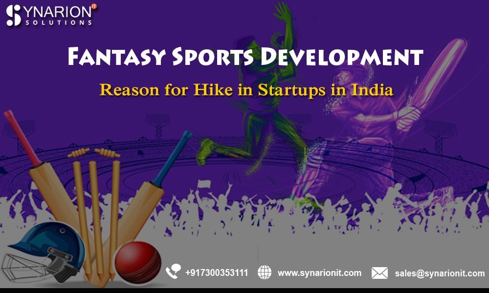 Fantasy sports are getting popular day by in may countries