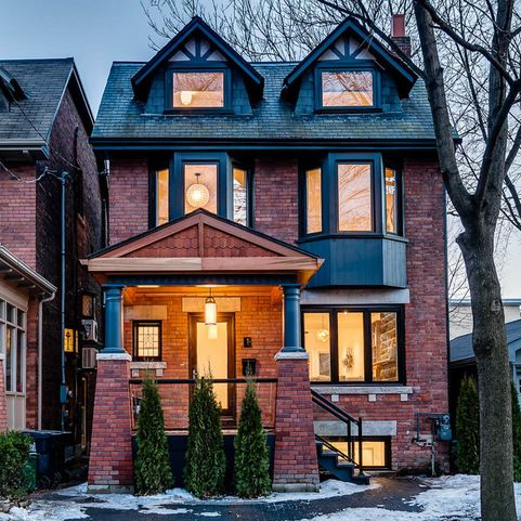 Red Brick Houses, House Design, Dream Homes, Real Estates, Real Estate  Sales, Ux/ui Designer, House Sales, Gossip Blog, Toronto Ontario Canada