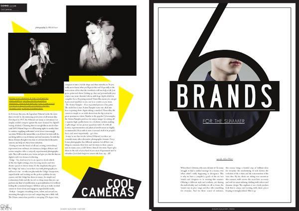 10 awesome fashion magazines layouts \u2014 Touchey Design Magazine