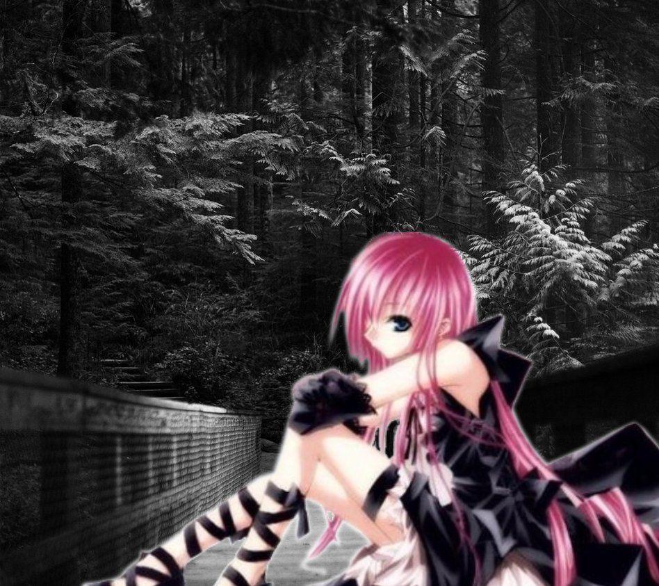 Anime Emo Girl Wallpaper by KarciaDastardly99 on