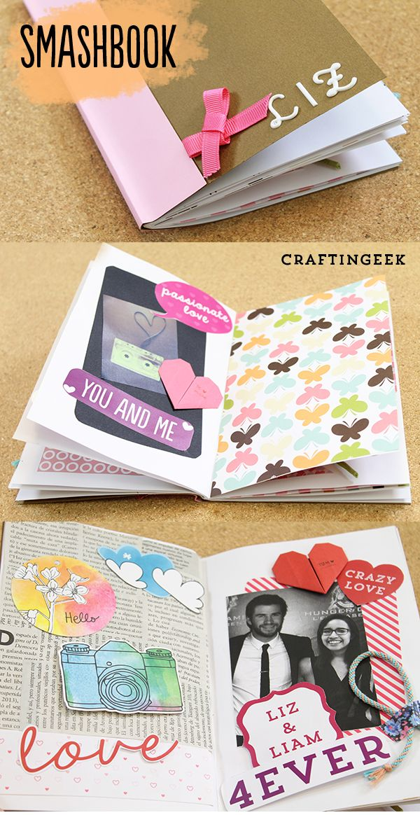 tips para decorar un album de scrapbook manualidades pinterest geschenke kleine geschenke. Black Bedroom Furniture Sets. Home Design Ideas
