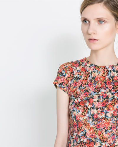 PRINTED DRESS - Dresses - Woman - New collection | ZARA ...
