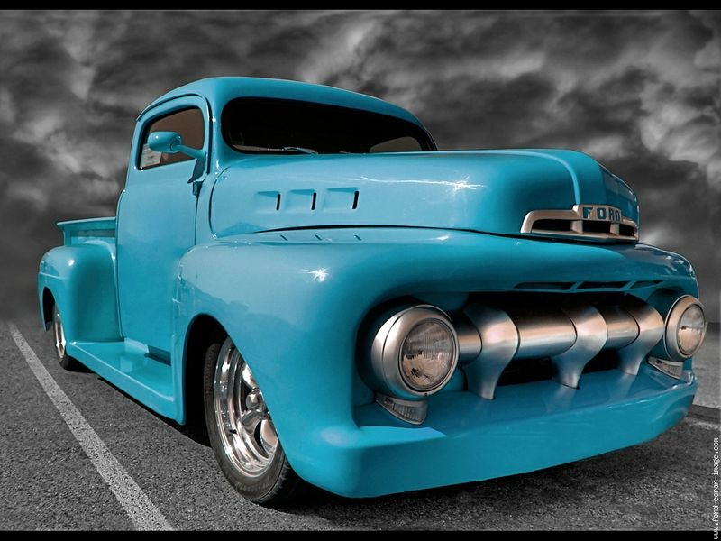 Hot Cars Wallpaper Hot Road Blue Car Ford Road Blue Car Hot Road Other Wallpaper Vintage Pickup Trucks Classic Cars Trucks Classic Ford Trucks