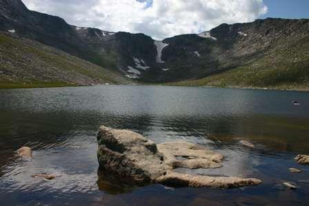 Summit Lake near Mount Evans