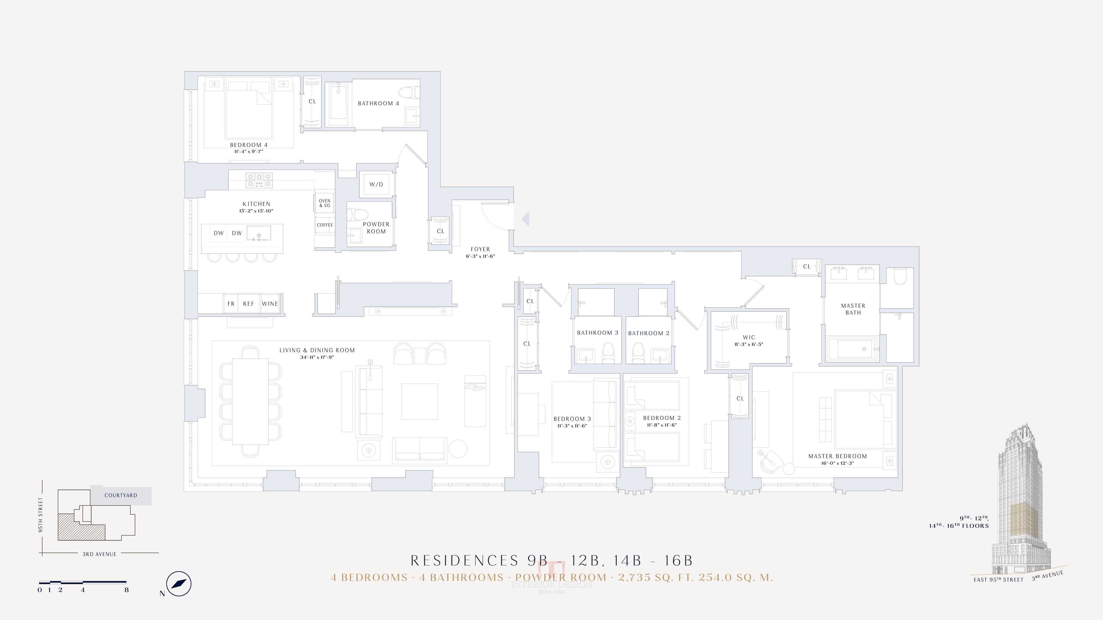 Pin By Eason Zh On Plan Floor Plans Apartment Layout City House