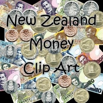 free new zealand currency clip art money notes coins my worksheets and clip art money. Black Bedroom Furniture Sets. Home Design Ideas