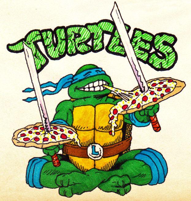 Pizza time by real warner on deviantart tmnt ninja - Tortues ninja pizza ...