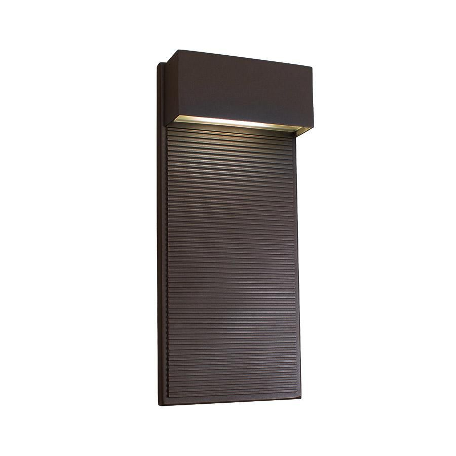 Modern forms wswbz hiline led inch bronze outdoor wall
