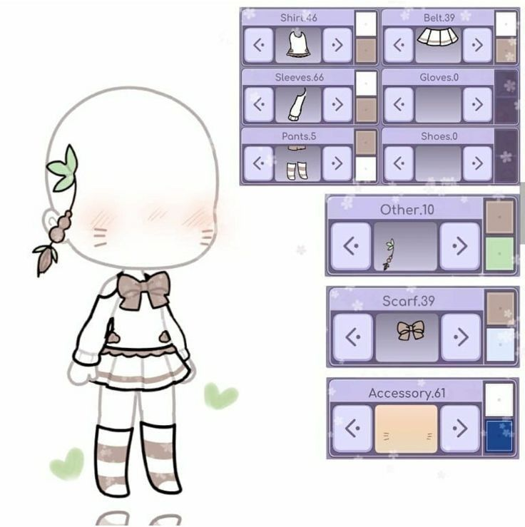 Pin by O L I V I A on Gachas in 2020 Character outfits