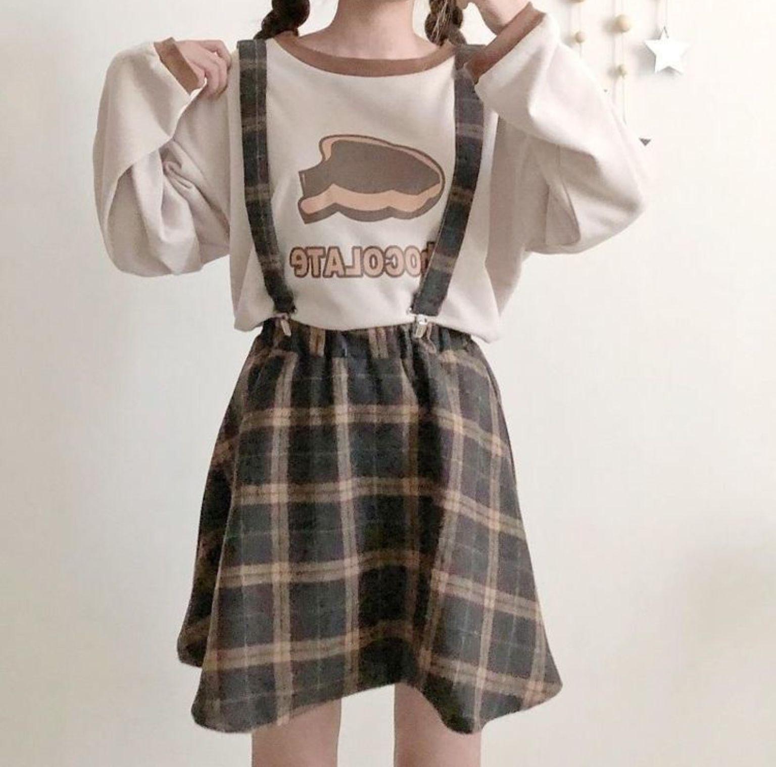 R O S I E Kawaiiclothes Clothes Fashion Kfashion Korean Fashion Style Street Style Cute Kawaii S In 2020 Kawaii Fashion Outfits Pastel Aesthetic Outfit Kawaii Clothes