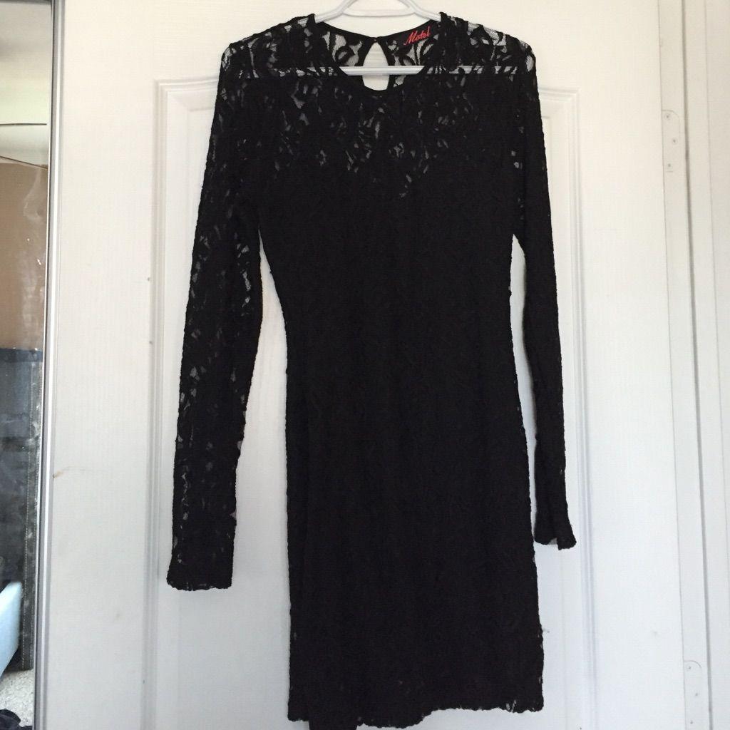 Nasty Gal Black Lace Dress!