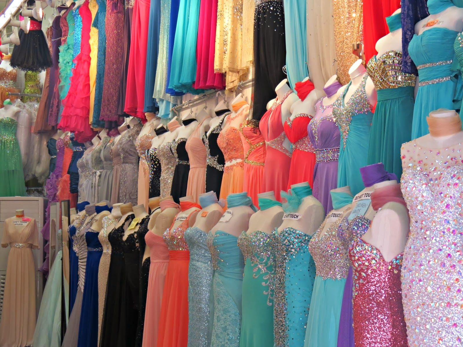 LA Fashion District: LA Fashion District 2014 Prom Dress Shopping ...