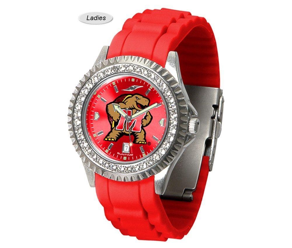 Maryland Terrapins Sparkle Watch