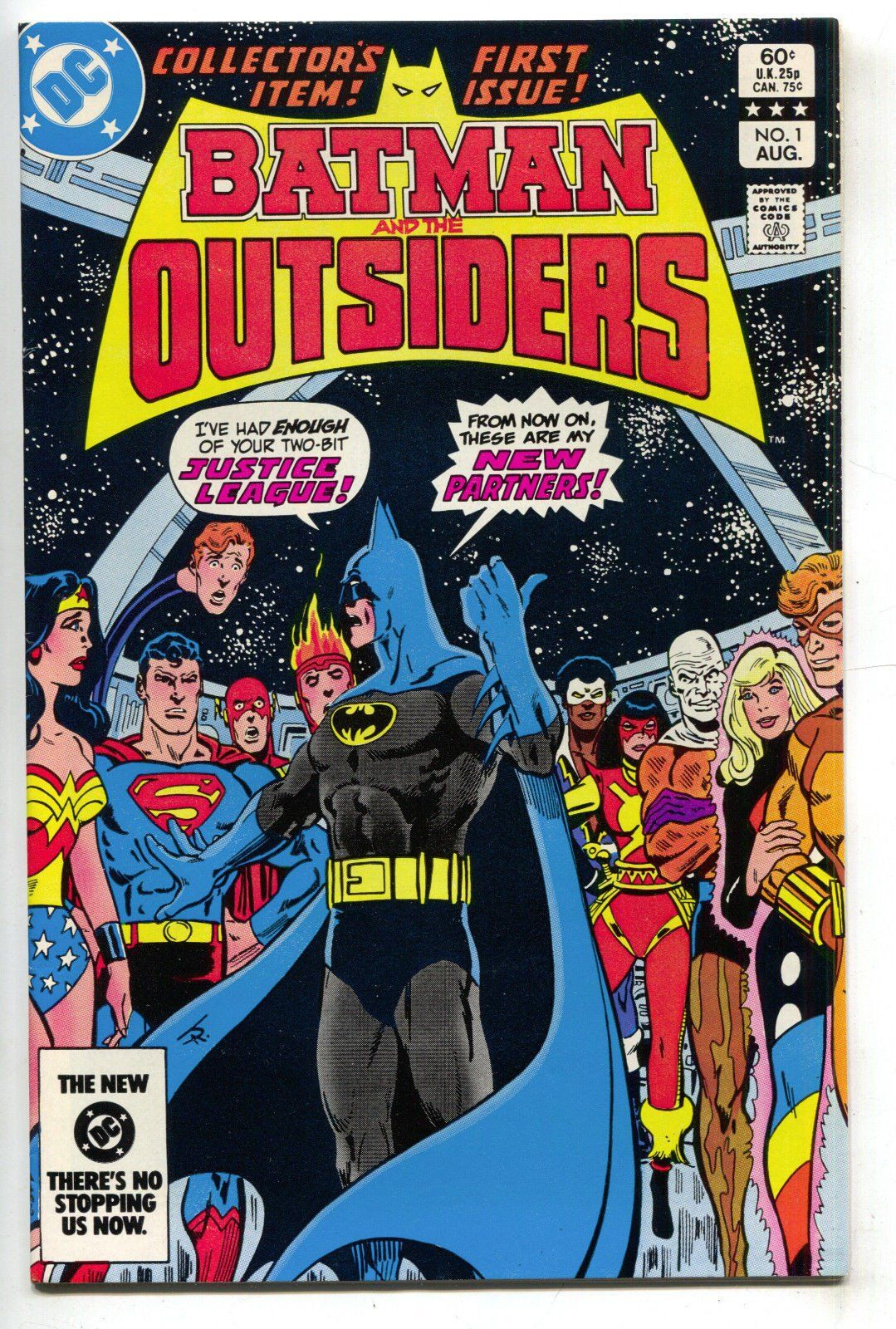 NM! BATMAN AND THE OUTSIDERS 1