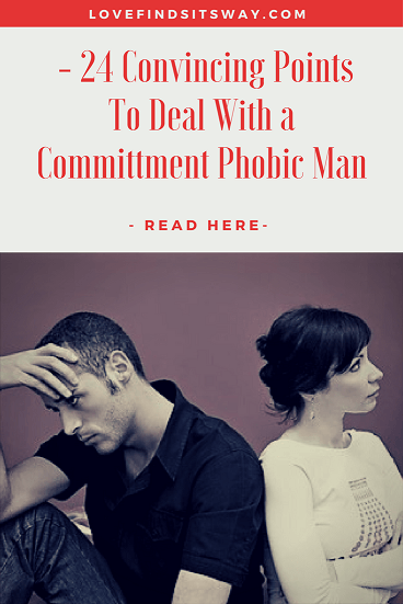 Signs of commitment phobia in men