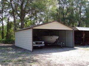 Boxed Eave Boat Carport Steel Carports Carport Carport Cost