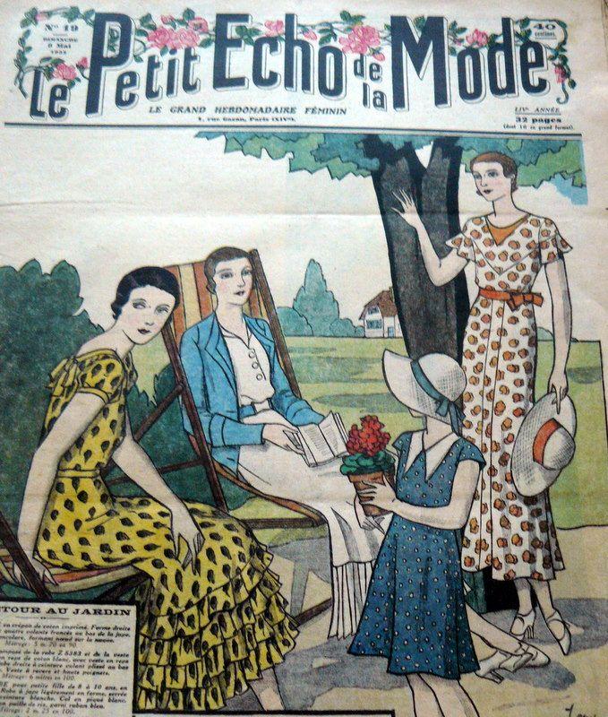 LE PETIT ECHO de la MODE 1932