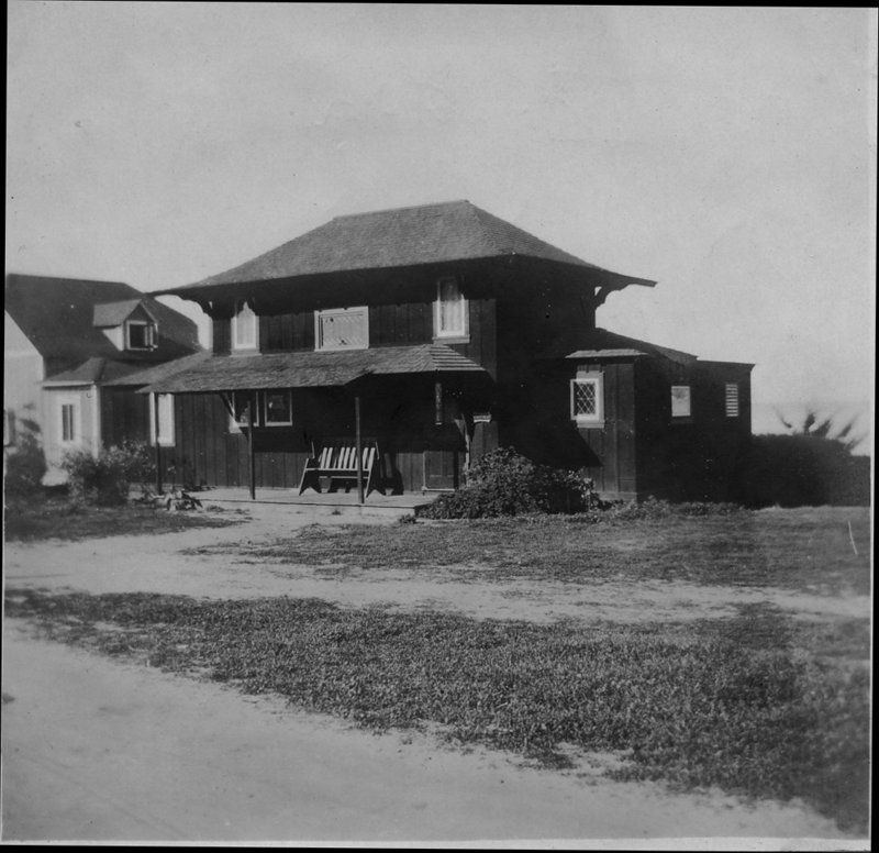 Ellen Browning Scripps house 1913 Irving Gill architect