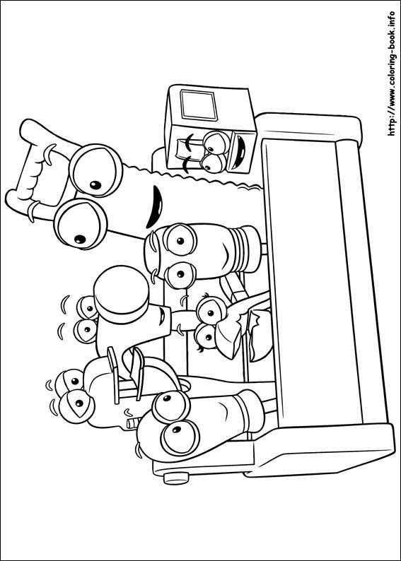 Handy Manny coloring picture | Thing\'s to do w/ the boys ...