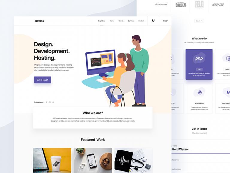 Uiux Interaction Design Week 9 Landing Page Web Design Tips Web Design