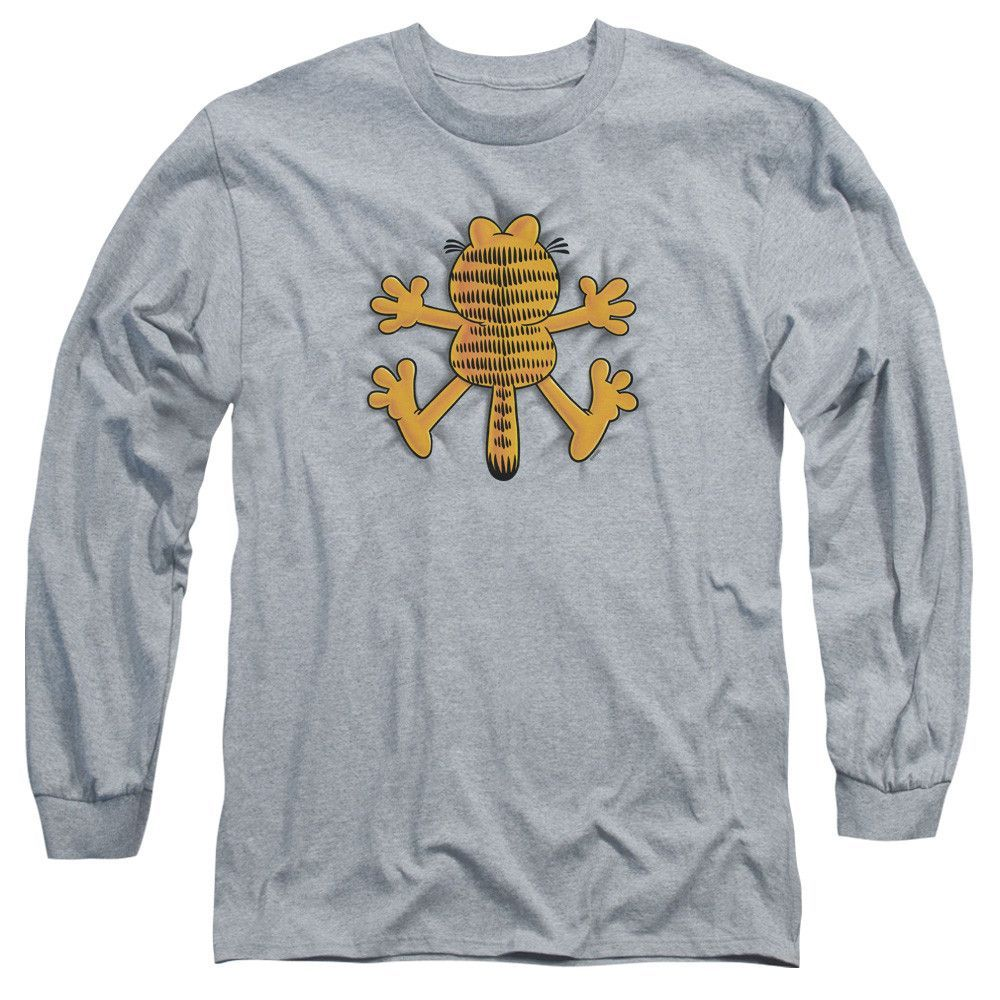 GARFIELD/OW - L/S ADULT 18/1 - HEATHER -