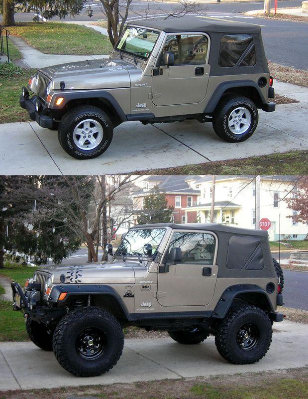 Built A Stock 2008 Jeep Wrangler Into A Mudder Rockcrawler 35s 5 5 Lift Detroit Rear Locker Ox Front Locker Custom Driveshafts Warn Win Jeep Wrangler Jeep Wrangler Tj Jeep Tj