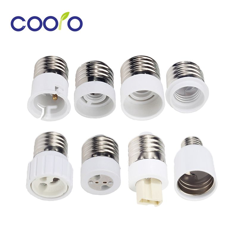 Bulb Converter E27 Male To E12 E14 E40 B22 Mr16 G9 Gu10 Female Lamp Socket Bulb Base Extend Adapter Cheap Product Is Avai Lamp Socket Bulb Light Accessories