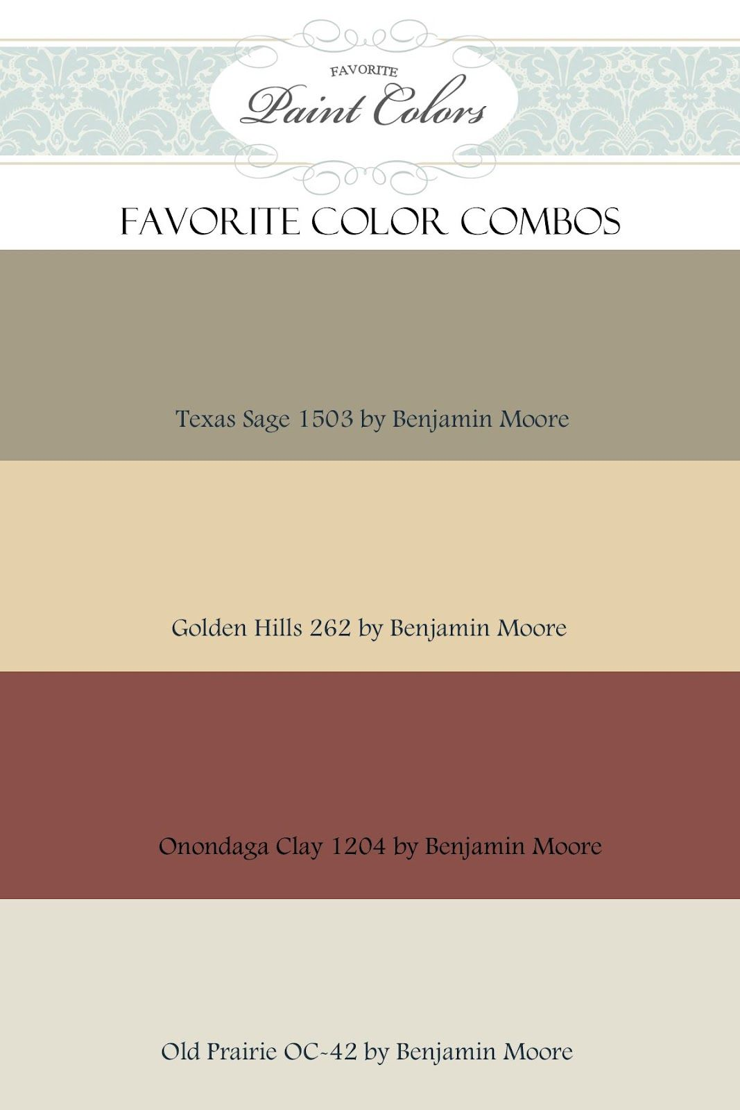 Rustic Color Schemes Kitchen Color Combinations Lots Of Combos On This Site Im