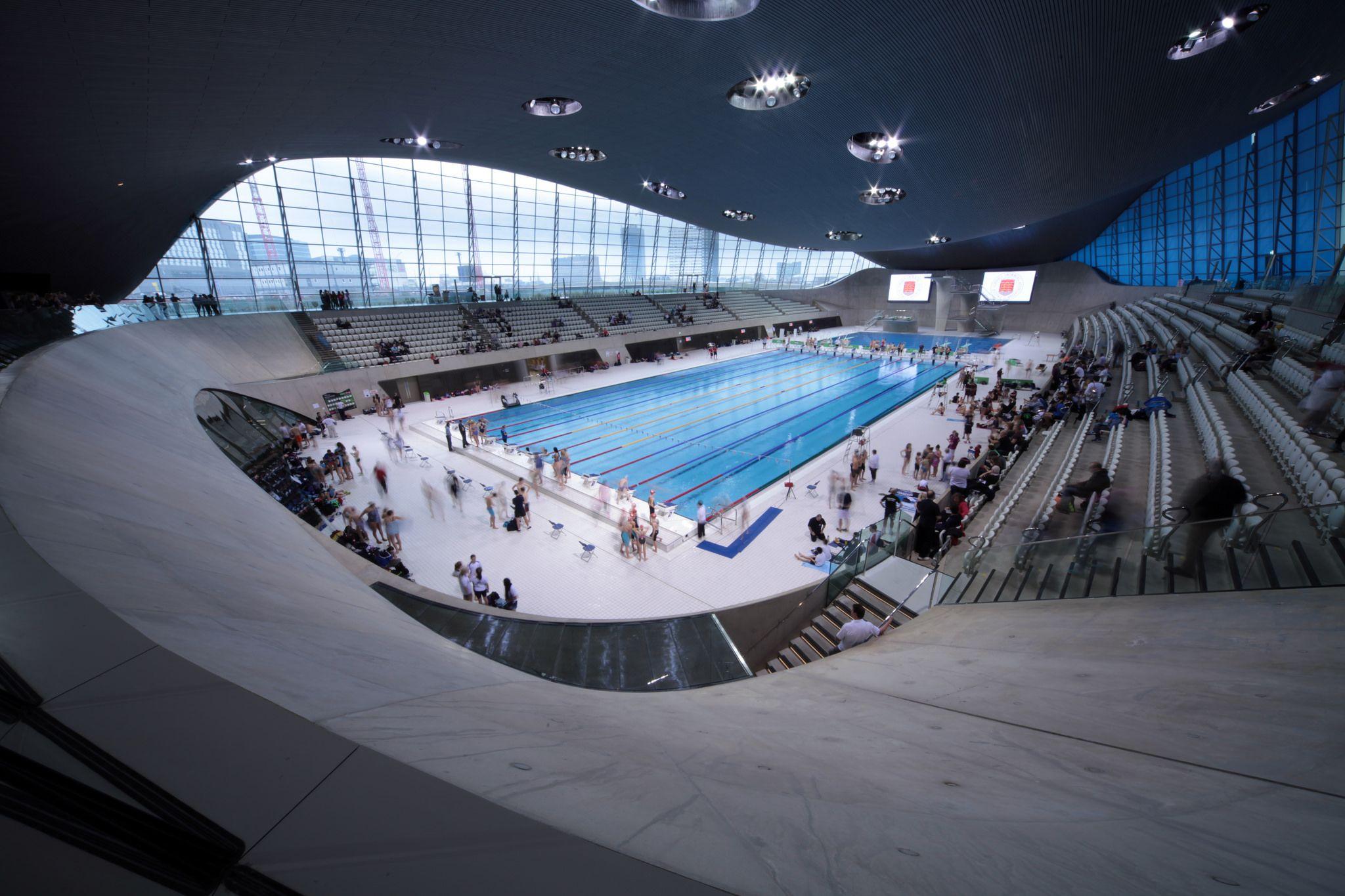 the london aquatics centre london olympics venue