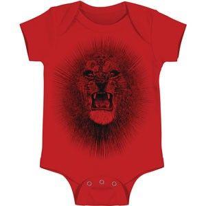 Santana Red Lion Onesie