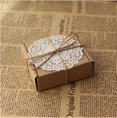 Wedding Gift Ideas Manila : Gift BoxBuy Vintage DIY Wedding Favor Box Custom Made Wedding Gift ...