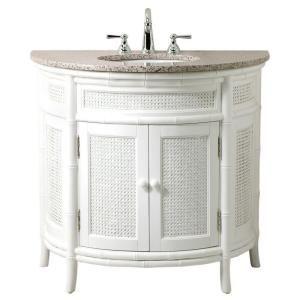 Julia Demi Lune Vanity Traditional Bathroom Vanities And Sink Consoles Design