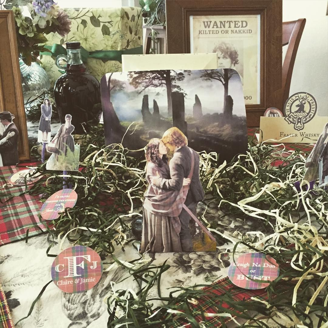 """""""My #Outlander themed birthday was amazing! Thank you darling mother in-law and father-in-law for creating this wonderful experience! #birthday #sassanch…"""""""