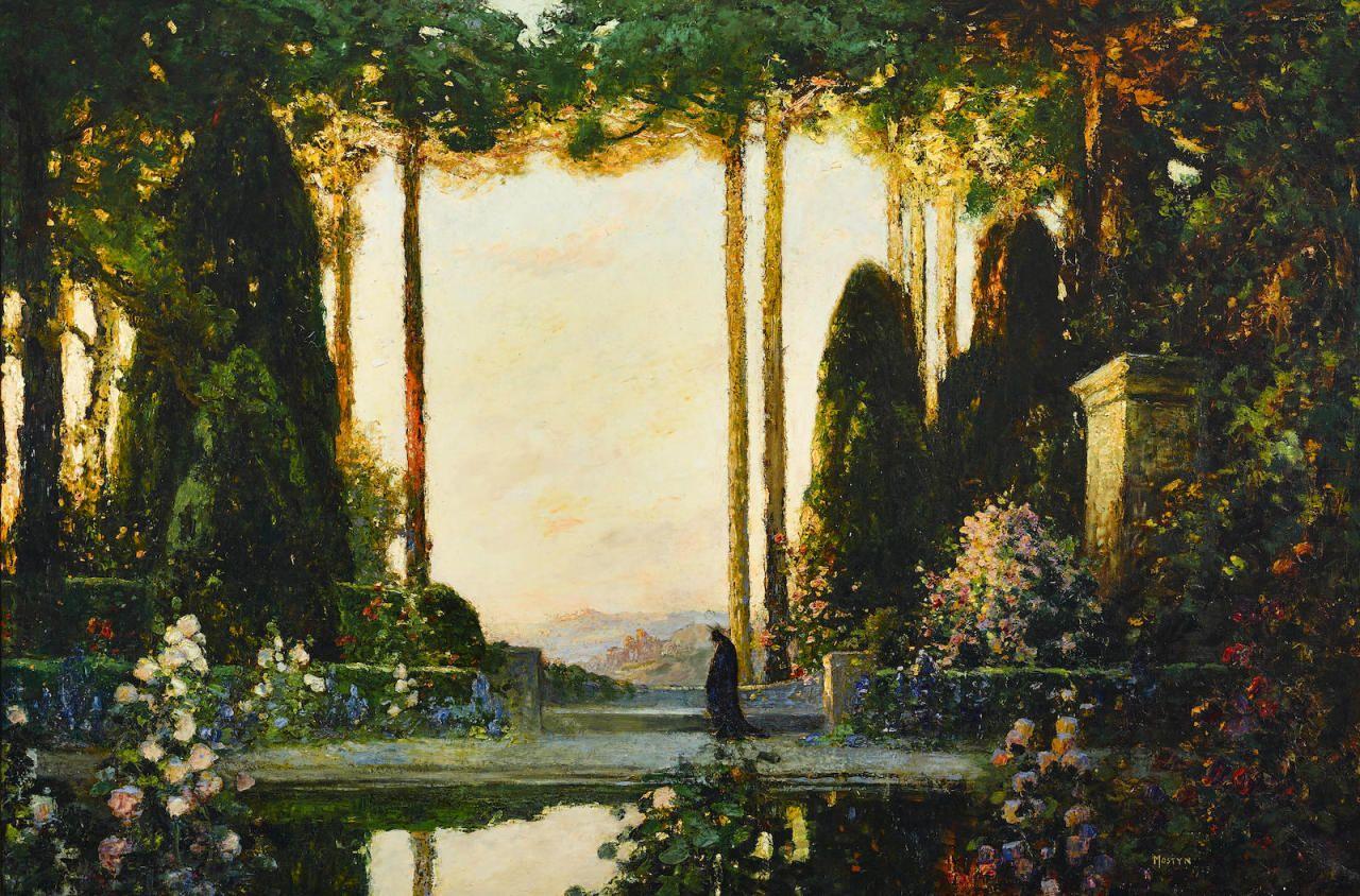 Enchanted Garden: Thomas Edwin Mostyn (1864-1930) An Enchanted Garden
