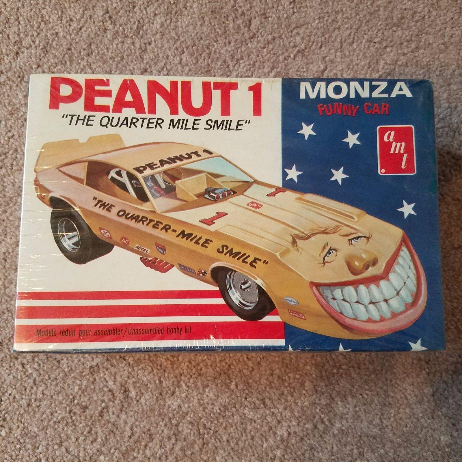 Vintage AMT Chevrolet Monza Funny Car Model Car Kit Peanut 1 Jimmy