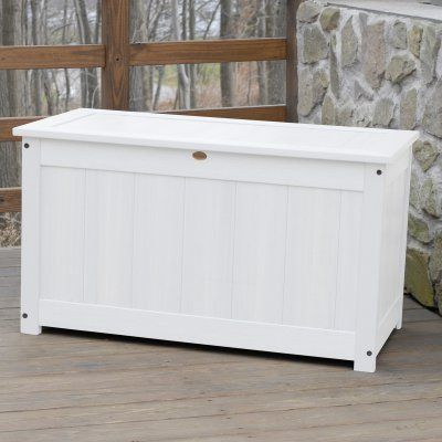Outdoor Highwood42 In Large Recycled Plastic 100 Gallon Deck Storage Box Ad Dbxl1 Tfe Hwd037 2