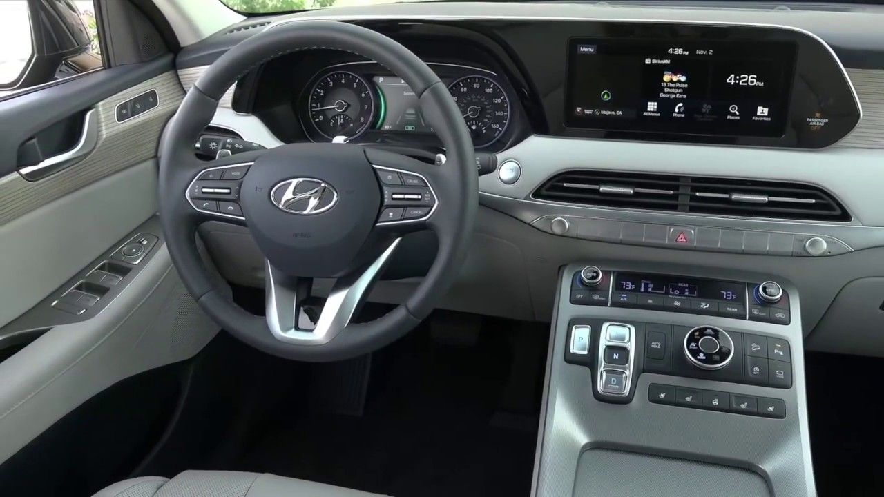 2020 Hyundai Palisade Interior Features Cargurus Car Videos