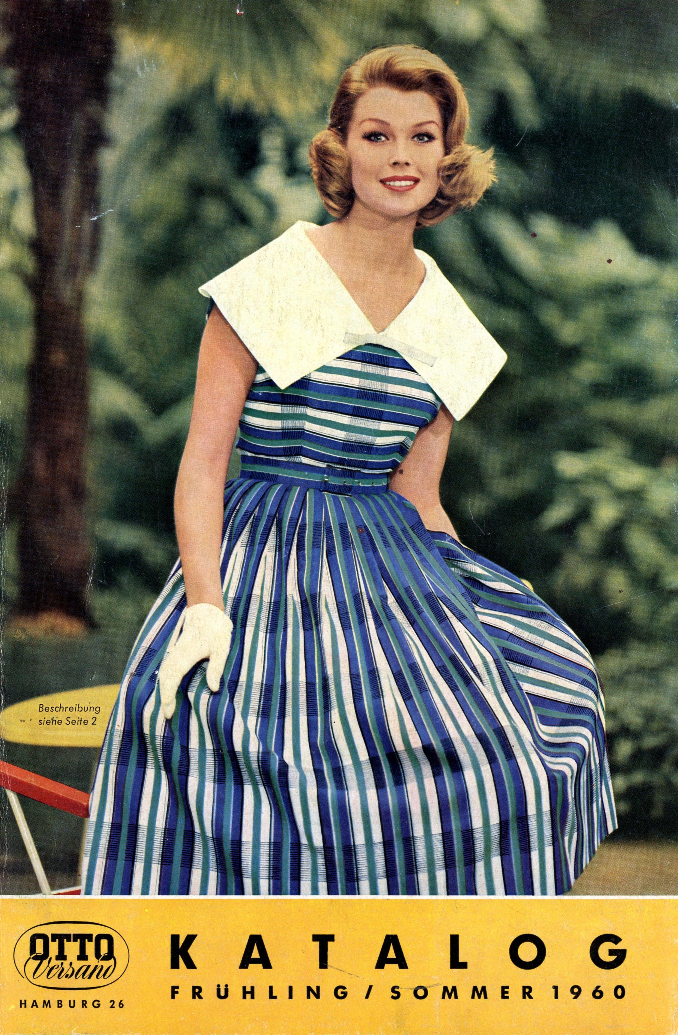 Katalogcover Frühjahr/Sommer 1960. In diesem Jahr wird außerdem das ...