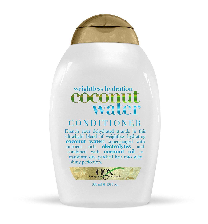 OGX Weightless Hydration Coconut Water Conditioner, 13 ...
