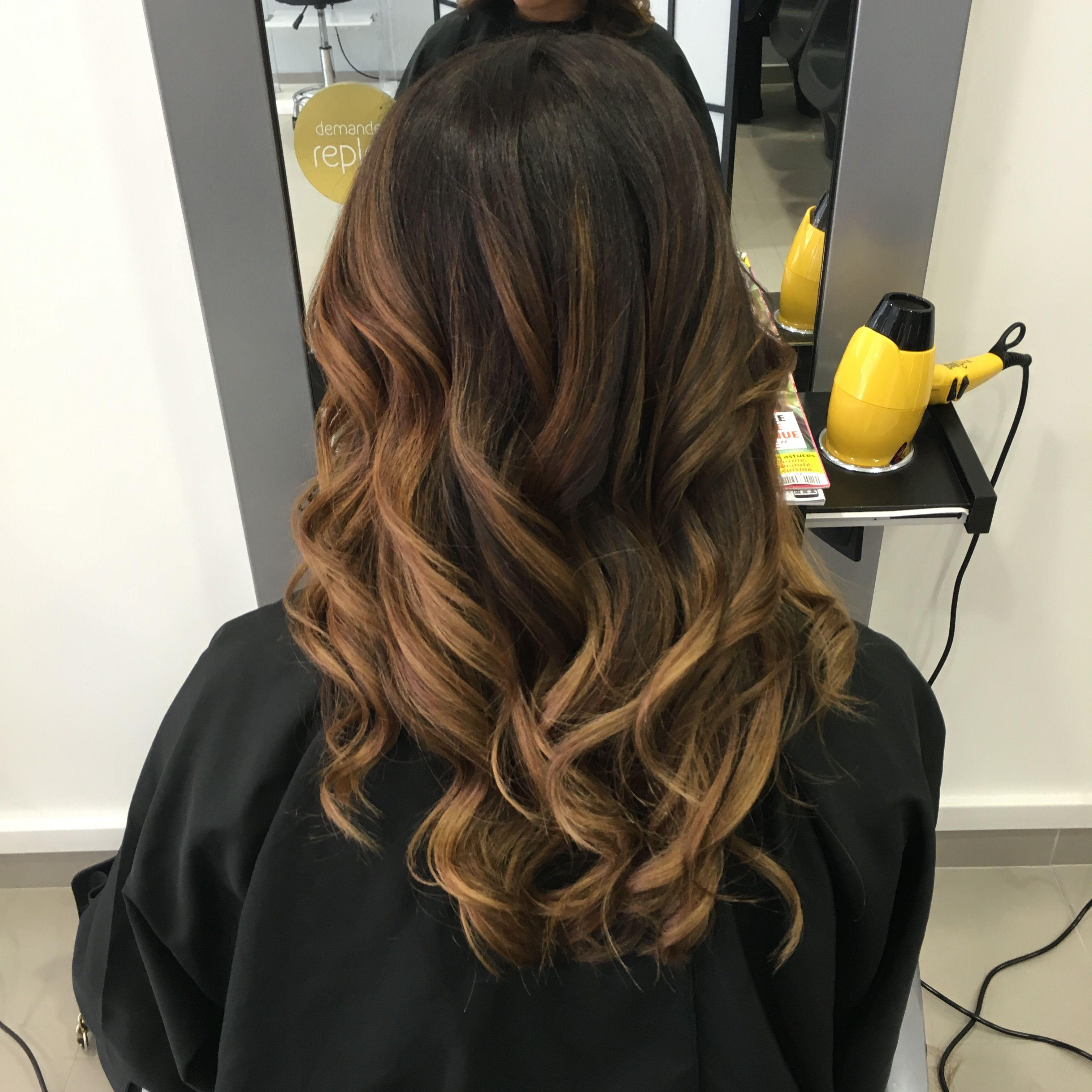 #ombrehair #hair #honey #ballayage