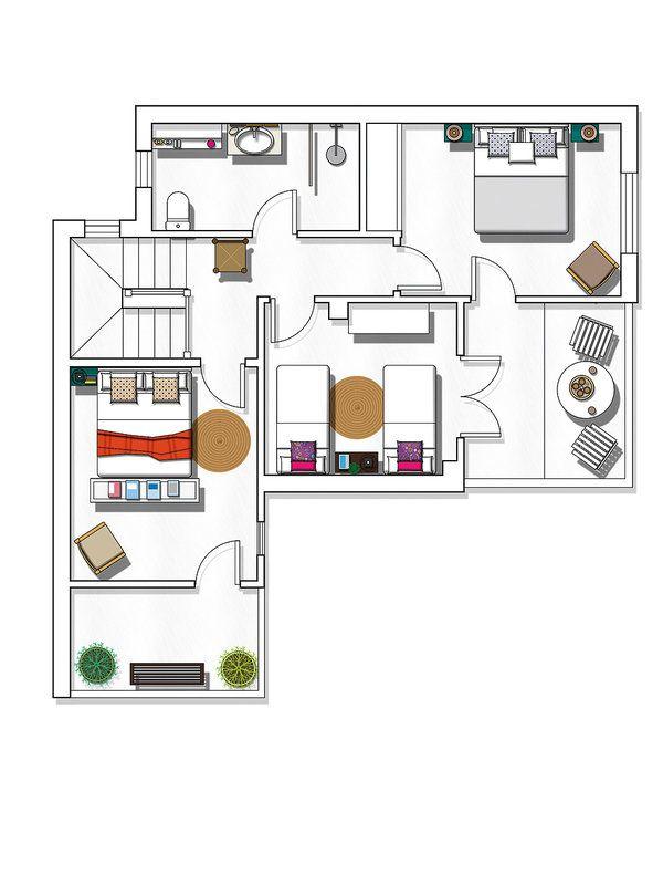 Una vivienda mediterránea de aire rústico