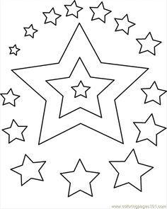 Free Star Printable For Wonder Woman Costume