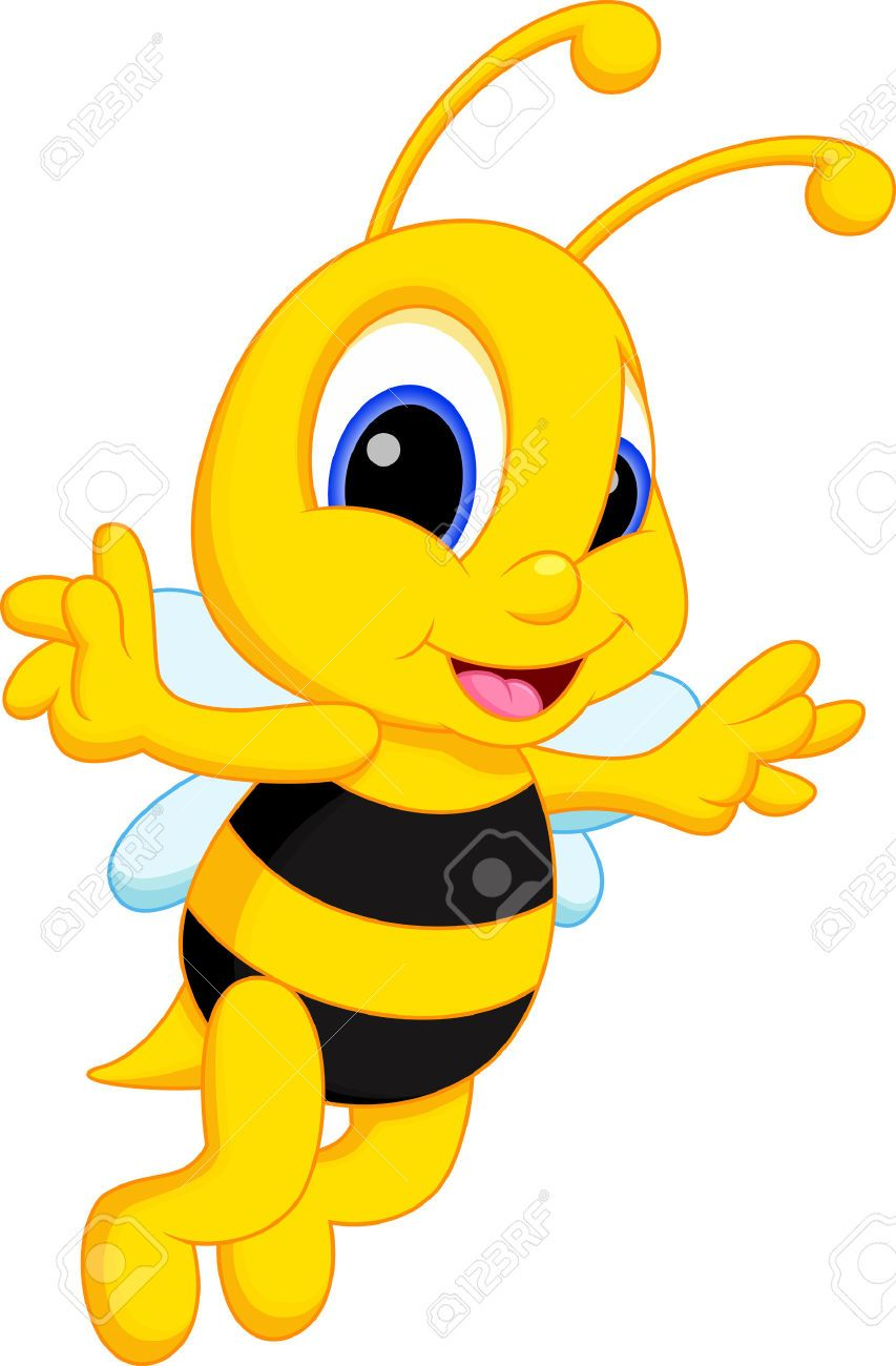 Busy Cartoon Bees With Honey Stock Photos Images Royalty Free Busy Cartoon Bees With Honey Images And Pictures Cartoon Bee Honey Bee Pictures Bee Pictures