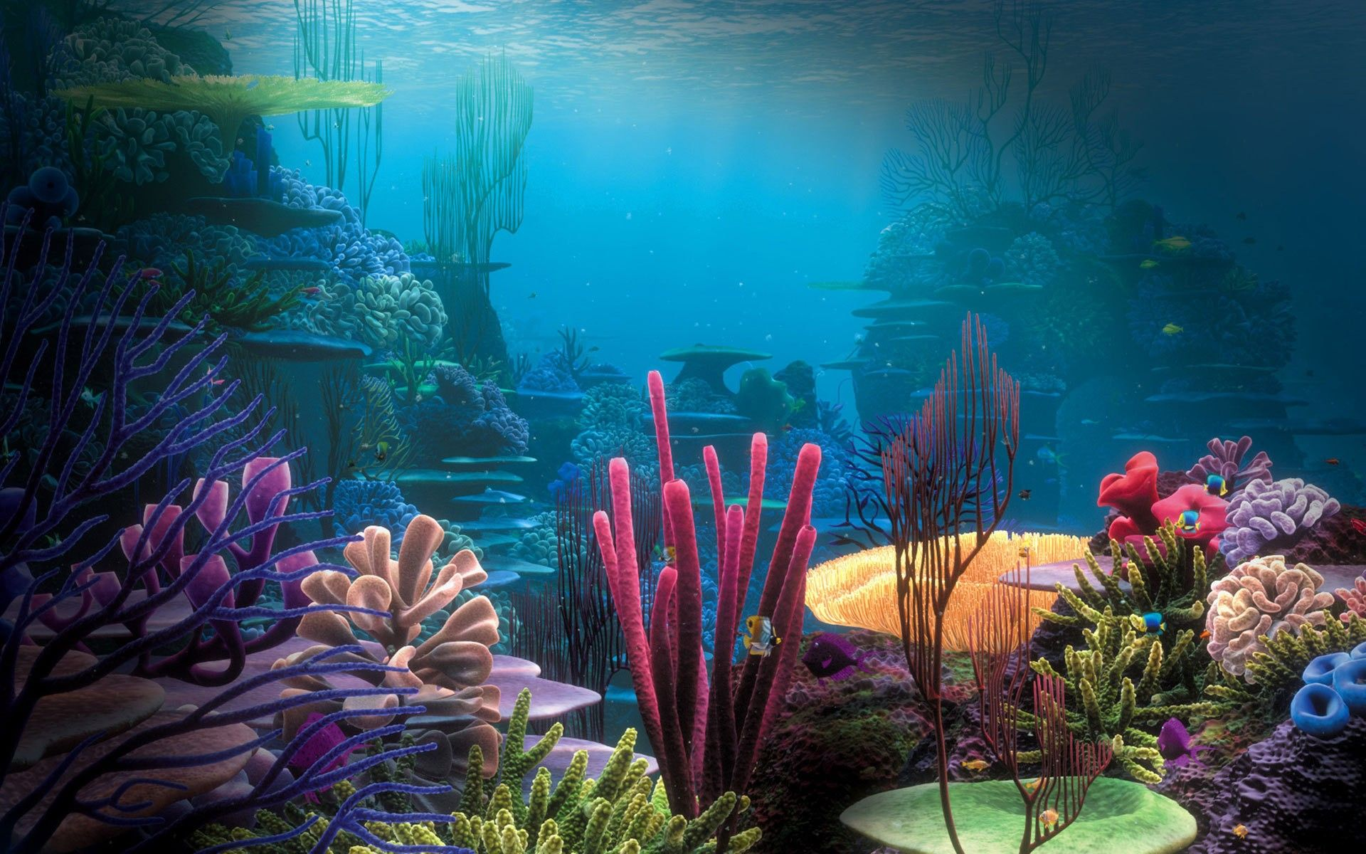 Fantasy Art Coral Reef Palace