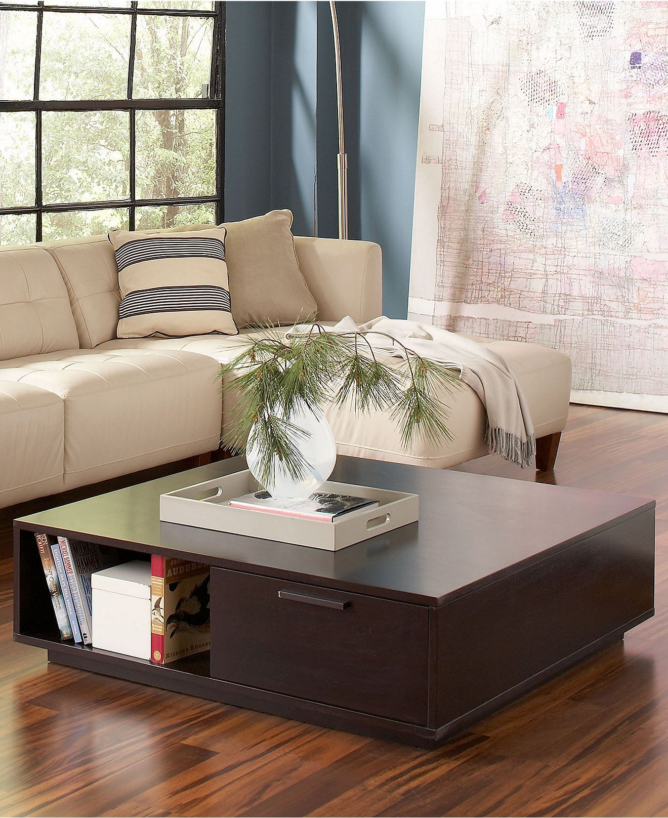 Tahoe Noir Table Collection   Coffee, Console U0026 End Tables   Furniture    Macyu0027s