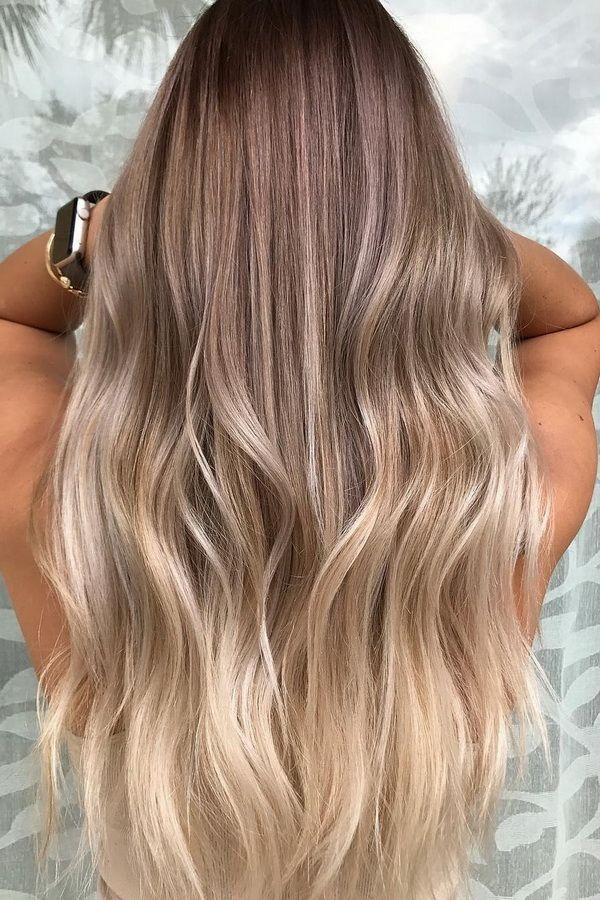 Haare Painting Blond