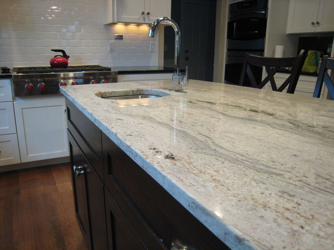 Juparana Bianco Kitchen - Countertops By Superior- Granite, Marble ...