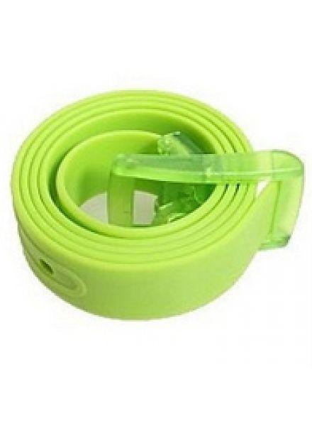 Verstelbare Rubber Riem Groen